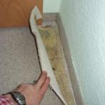 Schadstoffe unter Teppichen