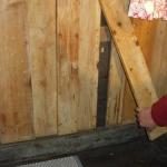 Schadstoffe an Wänden